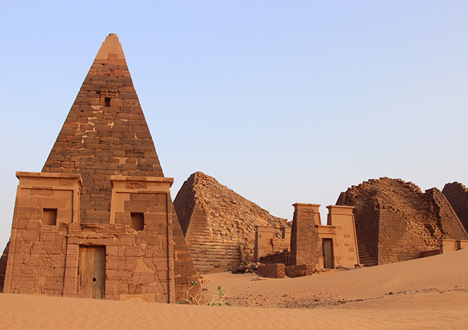 Vé máy bay khuyến mãi đi Sudan khám phá Kim Tự Tháp