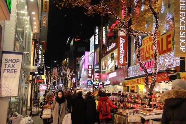 Chợ đêm Hàn Quốc