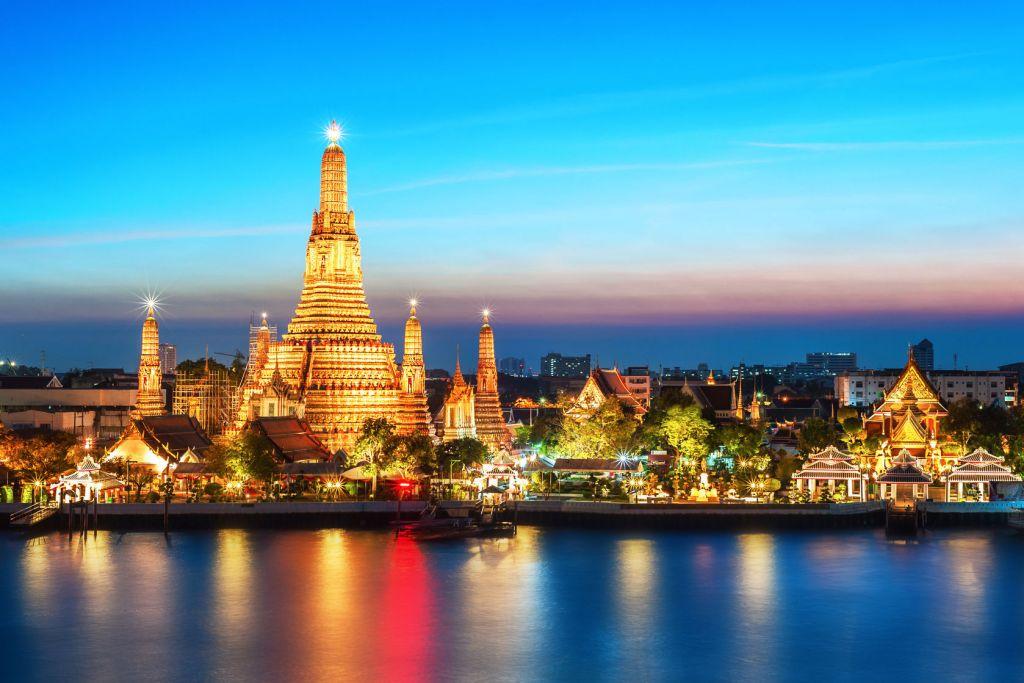 Xứ sở Chùa Vàng ở Thái Lan