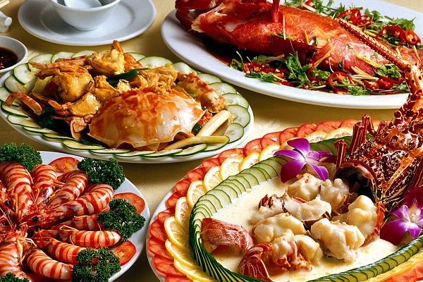 Hải sản tươi ngon ở Nha Trang