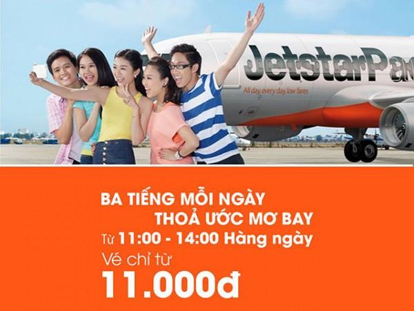 Vé máy bay đi Hồng Kông chỉ từ 11k của Jetstar