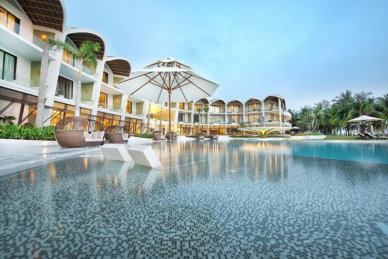 Một khách sạn trong Vinpearl Land