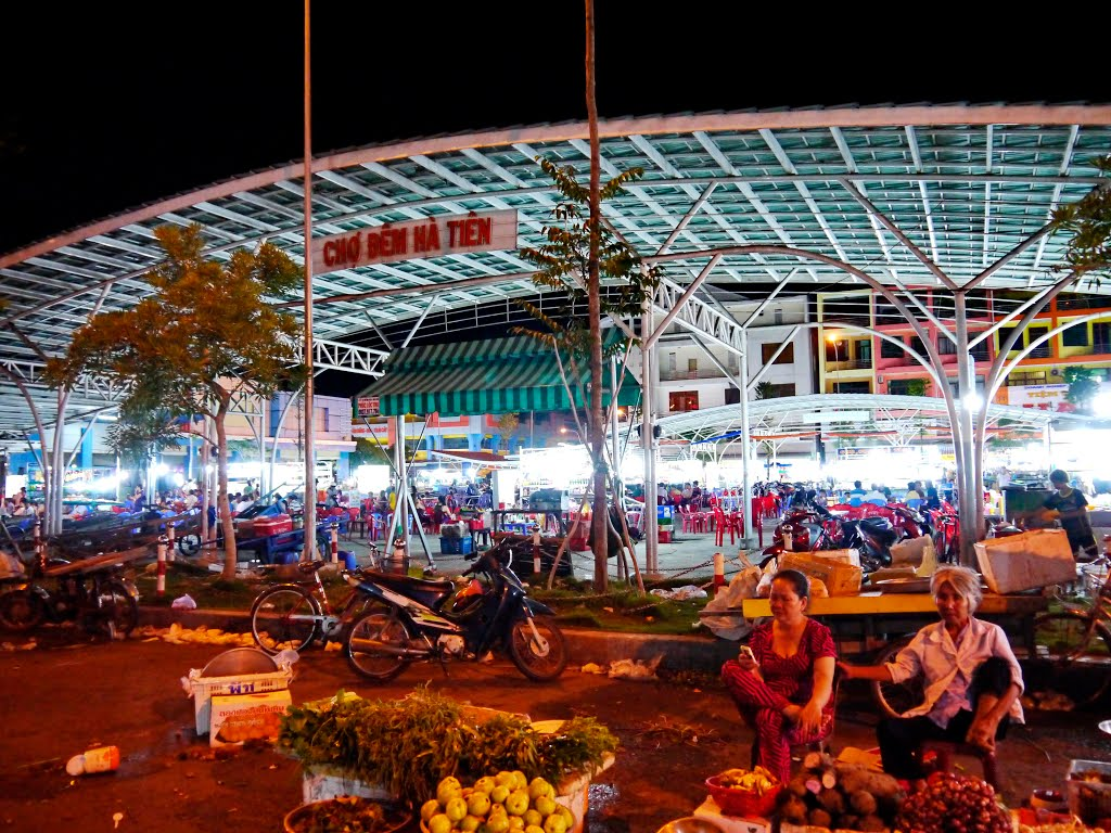 Ghé thăm chợ đêm Hà Tiên