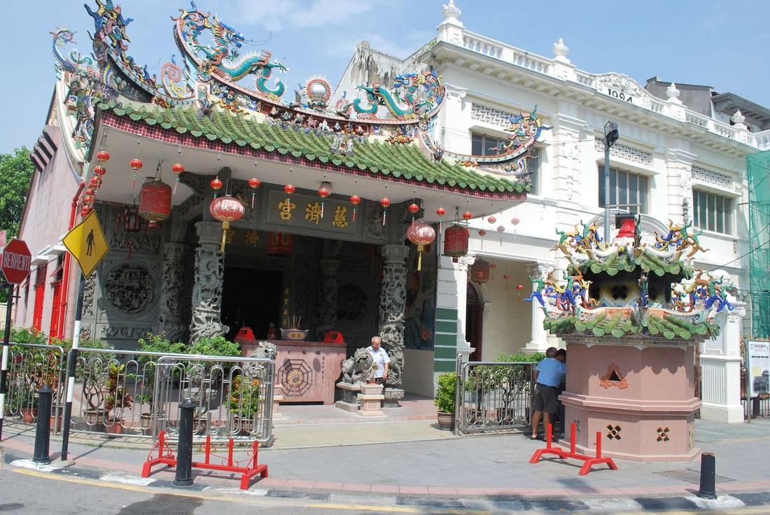 Nhà cổ xứ Penang