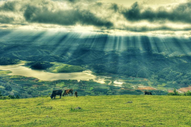 Góc yên bình của Núi Langbiang