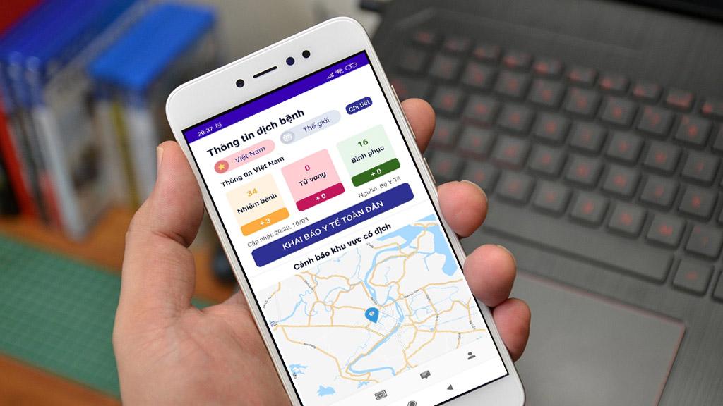 App khai báo y tế toàn dân NCOVI